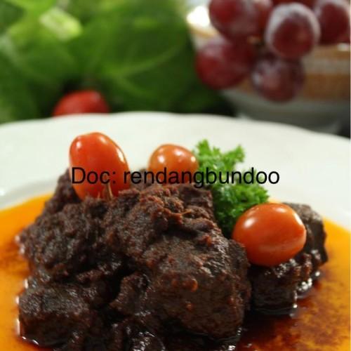Foto Produk Rendang Daging netto 500 gram dari Rendang Bundoo