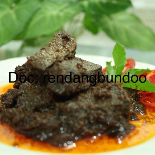 Foto Produk Rendang Paru netto 500 gram dari Rendang Bundoo