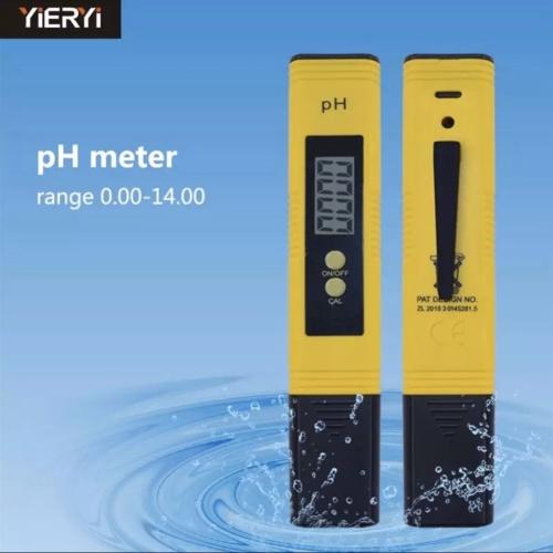 Foto Produk pH-02 pH Meter LCD Pen Digital Tester - Alat Ukur Kadar Asam - Yellow dari MOREmoreMORE