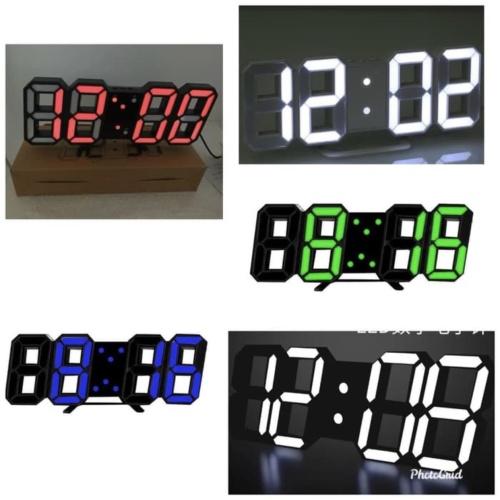 Foto Produk Ready Stock Jam Dinding LED murah jam meja digital dari Untung Rejeki Shop
