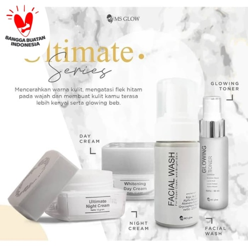 Foto Produk PAKET ULTIMATE/FLEK MS GLOW - ULTIMATE SERIES MSGLOW dari CHICBEAUTE