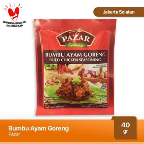Foto Produk Pazar Bumbu Ayam Goreng Special Sachet 40 gr dari Japfa Best Jakarta