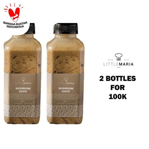 Foto Produk Mushroom sauce/Saus jamur 500g Buy 1 Get 1 50% OFF dari Little Maria