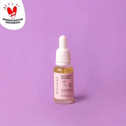 Foto Produk Bloomka Bakuchiol (Natural Retinol)+Grapeseed Facial Oil AntiAcne dari The Bath Box Official