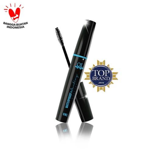 Foto Produk Ql Cosmetic - Waterproof & Curling Mascara Black 8 ml dari QL Cosmetic Official