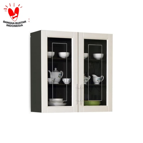 Promo Olympic Kitchen Set 2 Pintu Rak Dapur Kabinet Atas Kkd010880i Kota Surabaya Olympic Furniture Tokopedia