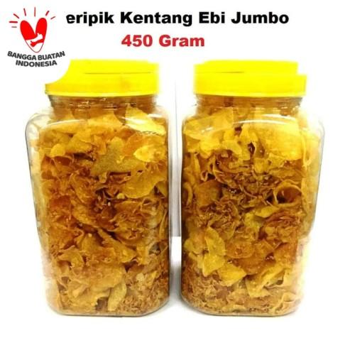 Foto Produk Keripik Kentang Ebi Homemade Enak Berkualitas 450 Gram dari tintintoys