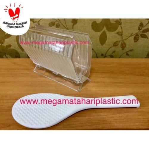 Foto Produk Centong / Sendok Nasi (Anti Lengket) Dengan Tempat dari Matahari Plastic