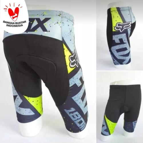 Foto Produk celana sepeda-OBRAL celana balap sepeda ketat pedding fox pendek dari gallery sport 4