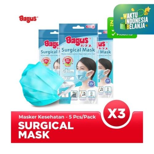 Foto Produk Triple Pack Bagus Masker Sehari-hari isi 5 pcs dari Bagus Official Store