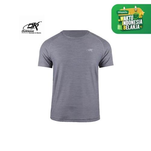 Foto Produk Running Jersey - DK Basic Color Tee Man Grey - S dari Duraking Outdoor&Sports