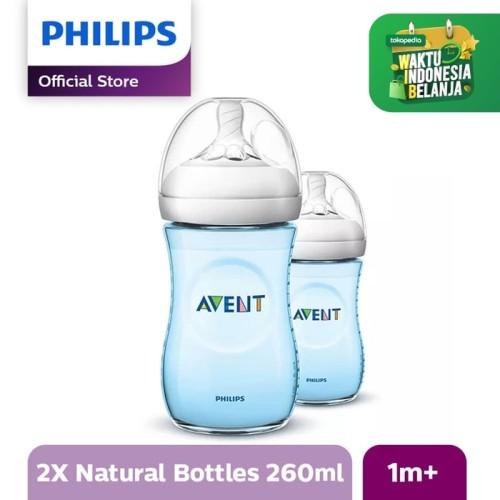 Foto Produk Philips Avent SCF695/23 NATURAL PP 9OZ BOTTLE BLUE TWIN - Biru dari Philips e-Store