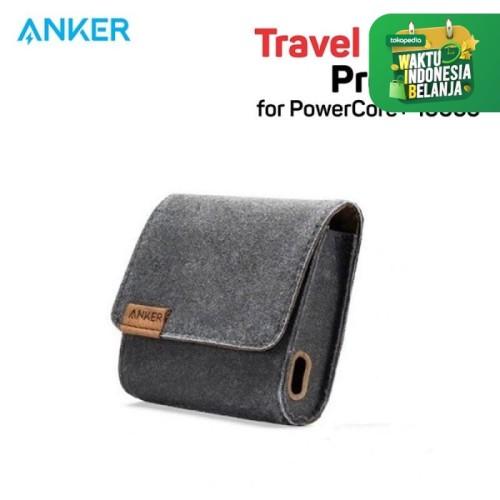Foto Produk Pouch PowerBank Anker for PowerCore+ 10050 Brown - A7096 dari Anker Indonesia