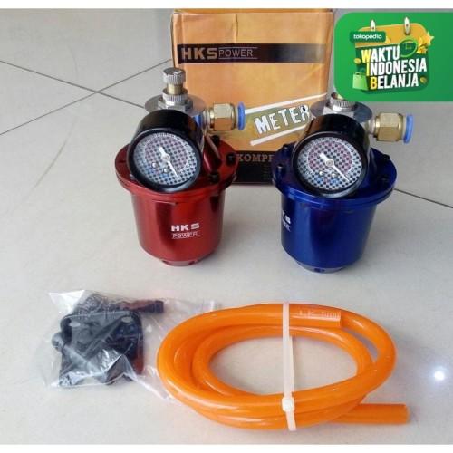 Foto Produk HKS Kompresor Besar HKS Meter Air Charger Universal HKS Compressor - Merah dari vauto