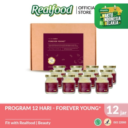 Foto Produk Realfood Forever Young+ Fully Concentrated Bird's Nest dengan Kolagen dari Realfood
