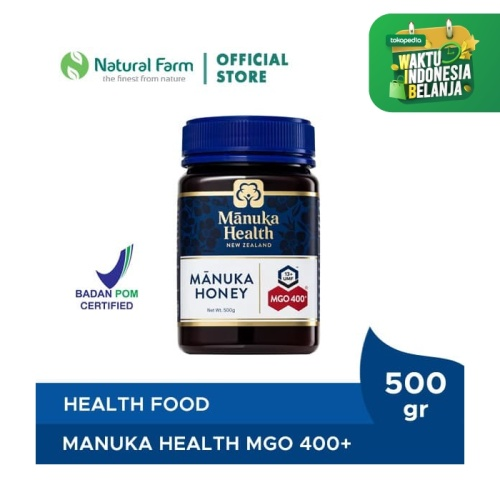 Foto Produk Manuka Health MGO 400+ (500gr) dari Natural Farm