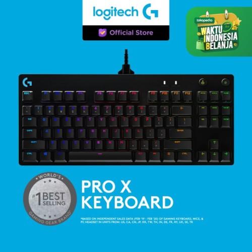 Foto Produk Logitech Pro X Gaming Keyboard dari Logitech G Official