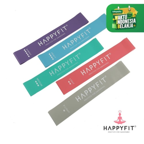 Foto Produk HAPPYFIT RESISTANCE LOOP BANDS - X-LIGHT GREY dari happyfit.id