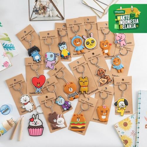 Foto Produk RUMAUMA Souvenir Gantungan Kunci Stainless Keychain Lucu Hadiah Murah - JEPANG dari Rumauma