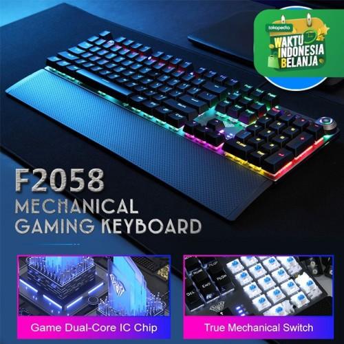 Foto Produk Keyboard Gaming Multimedia Mechanical AULA F2058 dari Aula Official Store
