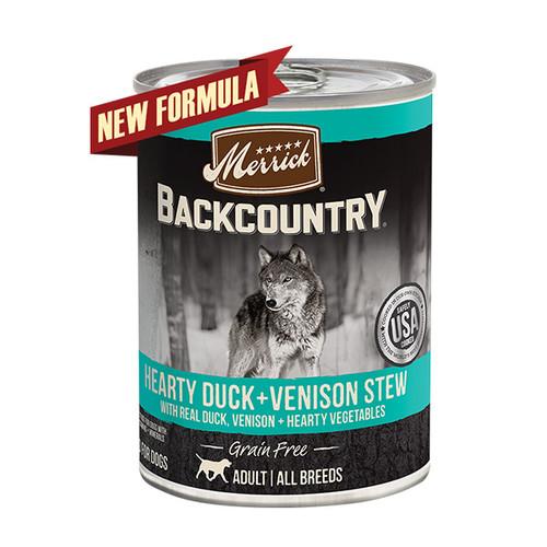Foto Produk merrick backcountry 360 gr dog hearty duck and venison stew dari F.J. Pet Shop