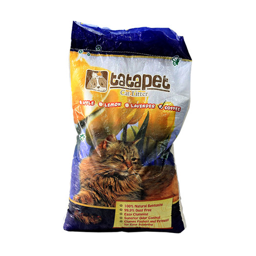 Foto Produk tatapet 10 L apple cat litter pasir kucing dari F.J. Pet Shop