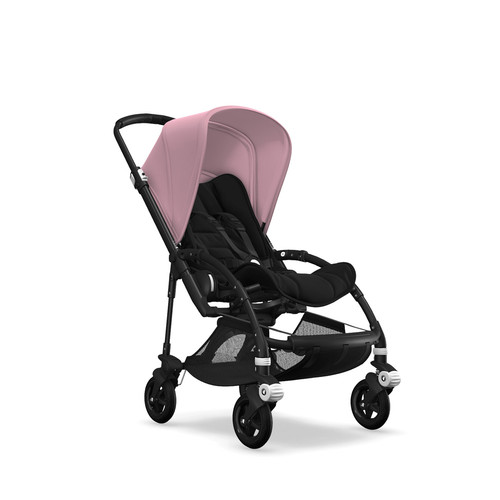 Foto Produk Bugaboo Complete Stroller Bee5 Black/Black - Soft Pink dari Bugaboo Official Store