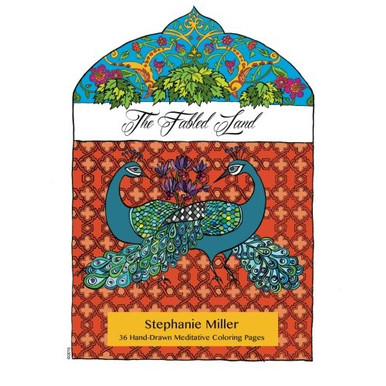 Jual The Fabled Land 36 Hand Drawn Meditative Coloring Pages Jakarta Selatan Bookxuply Tokopedia