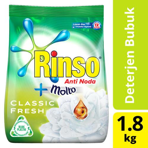 Foto Produk Rinso Molto Detergen Deterjen Bubuk Anti Noda Classic Fresh 1800Ml dari Unilever Official Store