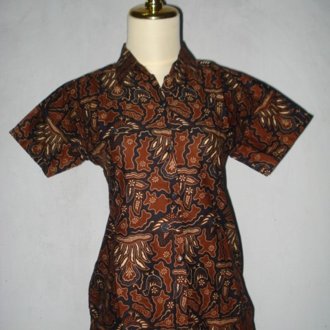Foto Produk Blus Batik Sogan 4 dari RadjaBeres