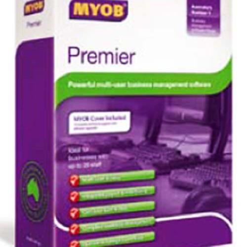 Foto Produk Software MYOB Prenier Ver.11 (Single User) (Original Singapore) dari Asta Consultindo