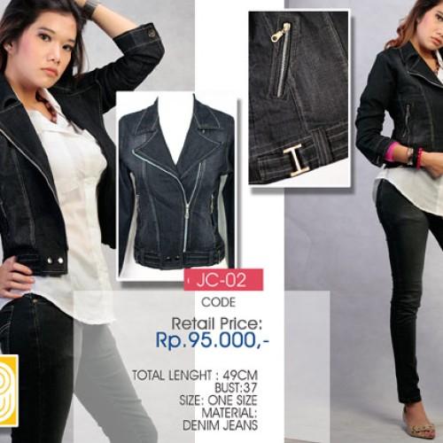 Foto Produk Jaket Jeans Hitam (MD2) dari LABEL9 CLOTH