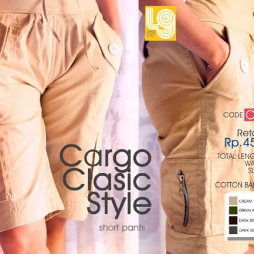 Foto Produk Celana Cargo, warana coklat muda dari LABEL9 CLOTH