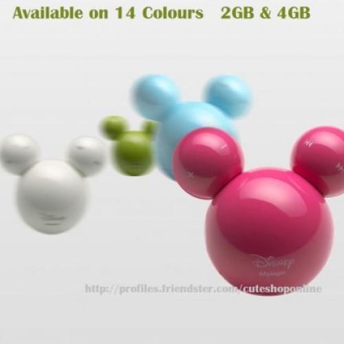 Foto Produk Mickey Mp3 Player 2GB ( Good Quality ) dari Cuteshoponline