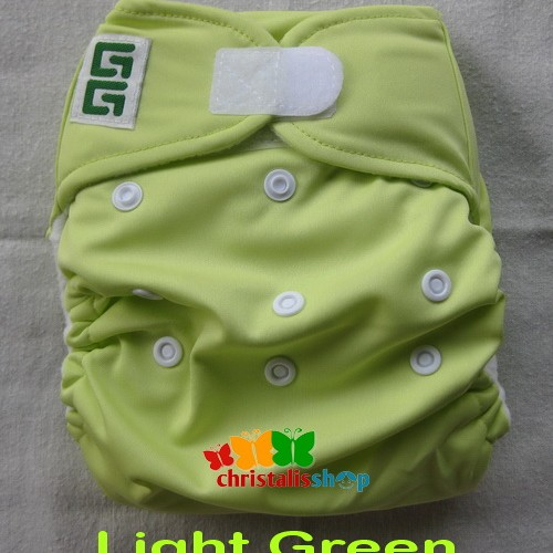 Foto Produk GG Original Cloth Diaper - Light Green dari CHRISTALIS Shop