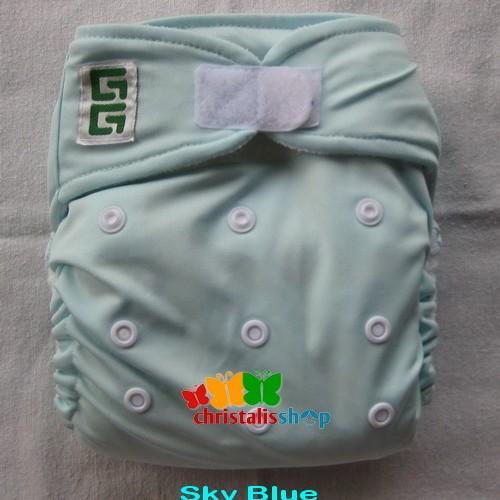 Foto Produk GG Original Cloth Diaper - Sky Blue dari CHRISTALIS Shop