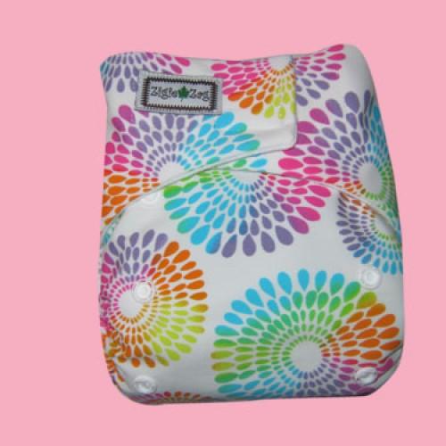 Foto Produk Ziggie Zag JUMBO Cloth Diaper - Fireworks dari CHRISTALIS Shop