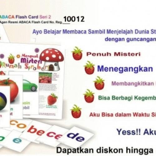 Foto Produk ABACA Flash Card Seri 2 dari CHRISTALIS Shop