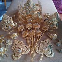 Foto Produk Aksesoris Pengantin, Aksesoris Mahkota Sunda (L029) dari kebayapengantin