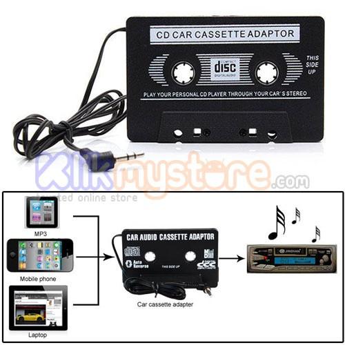 Foto Produk Kaset / Cassette Adapter / Adaptor dari klikmystore