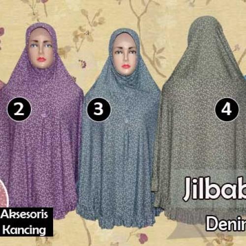 Jual Jilbab Panjang Model Bergo Motif Cantik Cirebon Mari Berhijab Tokopedia