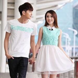 Foto Produk Baju Kaos Pakaian Mini Dress Couple Harvest Pasangan Cewek Cowok Murah dari Fairytale