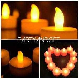 Foto Produk lilin Elektrik Mini Menyala 7 warna dari Barrokah Berkah Grosir