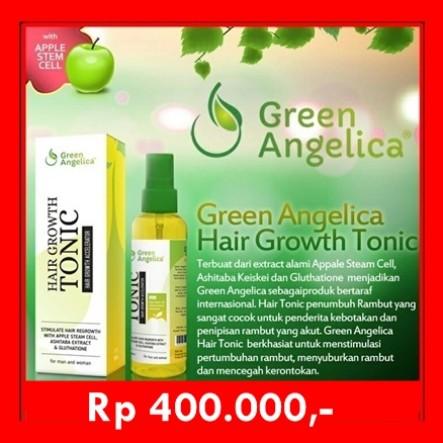 Jual Solusi Cepat Menumbuhkan Rambut Dengan Segera Green Angelica Jakarta Selatan Green Angelica Indonesia Tokopedia