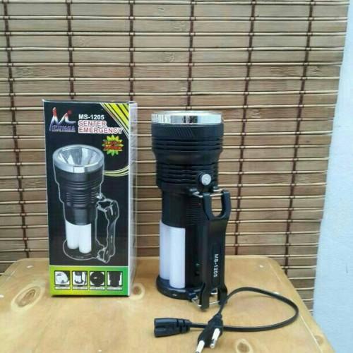 Foto Produk Senter Lampu Emergency Mitsuyama MS-1205 + Powerbank 1000mAH dari najwan shop