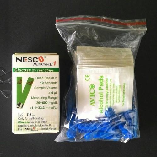 Foto Produk Test Strip Glucose, NESCO. Strip Guls dari AFIATCARE