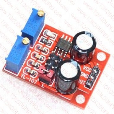 Foto Produk NE555 Pulse Frequency Duty Cycle Adjustable Module Square Wave Signal dari Tokoduino