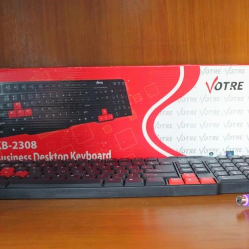 Foto Produk Keyboard PS2 Votre Gratis Mouse USB dari Jeni Jaya Elektronik