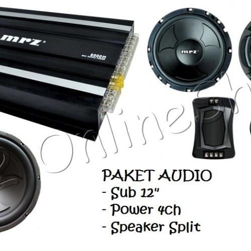 Jual Paket Audio Murah Car Audio Paket Murah Subwoofer Power Speaker Jakarta Pusat O2 Onlineshop Tokopedia