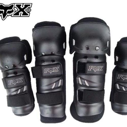 Foto Produk KNEE PROTEKTOR PELINDUNG TANGAN & KAKI MOTOR/SEPEDA FOX HITAM BIRU dari AXEL SHOP